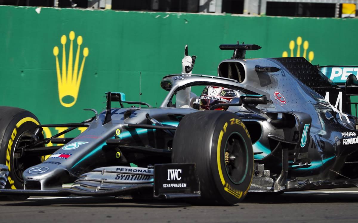 Lewis Hamilton ganó el GP de Hungría gracias a una buena estrategia