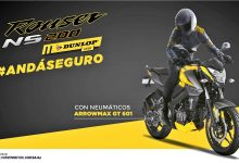 Photo of Llega la Rouser NS200 Dunlop Edition