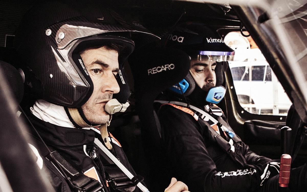 """Fernando Alonso: """"Marc Coma y yo nos llevamos muy bien"""""""
