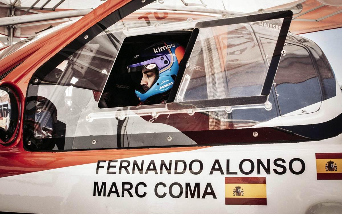 Fernando Alonso debutará oficialmente en el Cross Country