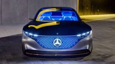 Photo of Mercedes-Benz VISION EQS: Un futuro luminoso