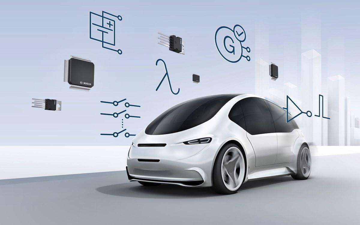 El microchip de Bosch que hace más seguros a los vehículos eléctricos