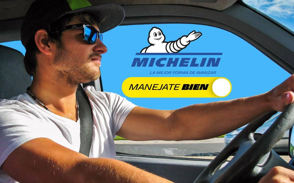#ManejateBien: La campaña de Michelin enfocada en los jóvenes