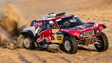 Photo of Podio para Carlos Sainz en la Sharqiyah Baja