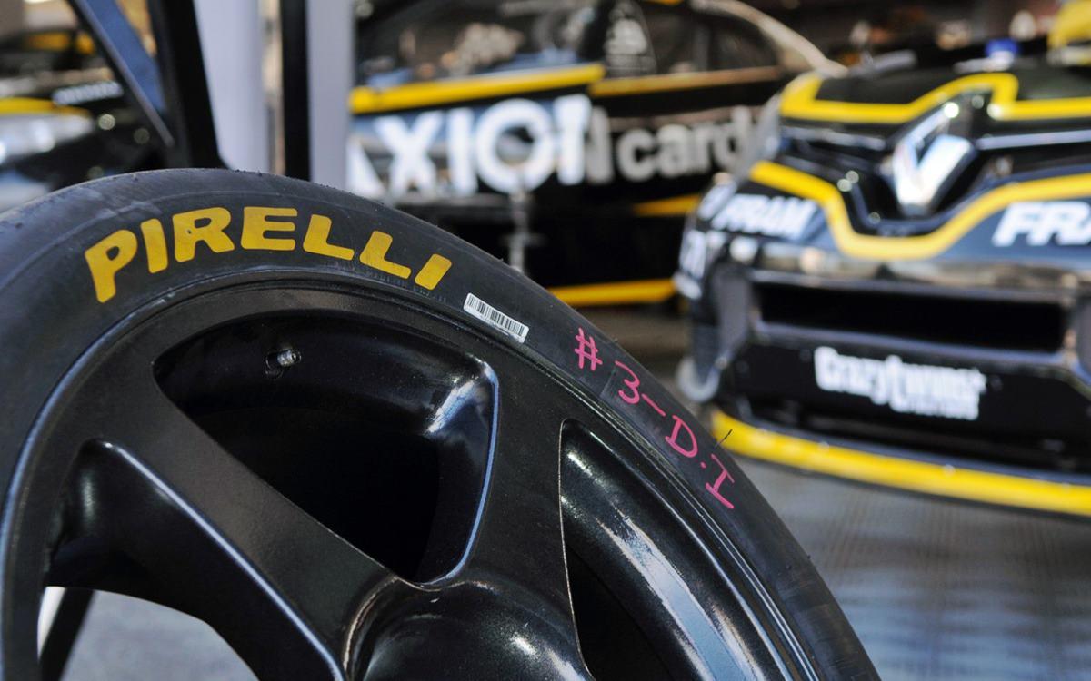 Modulo Competición de Pirelli
