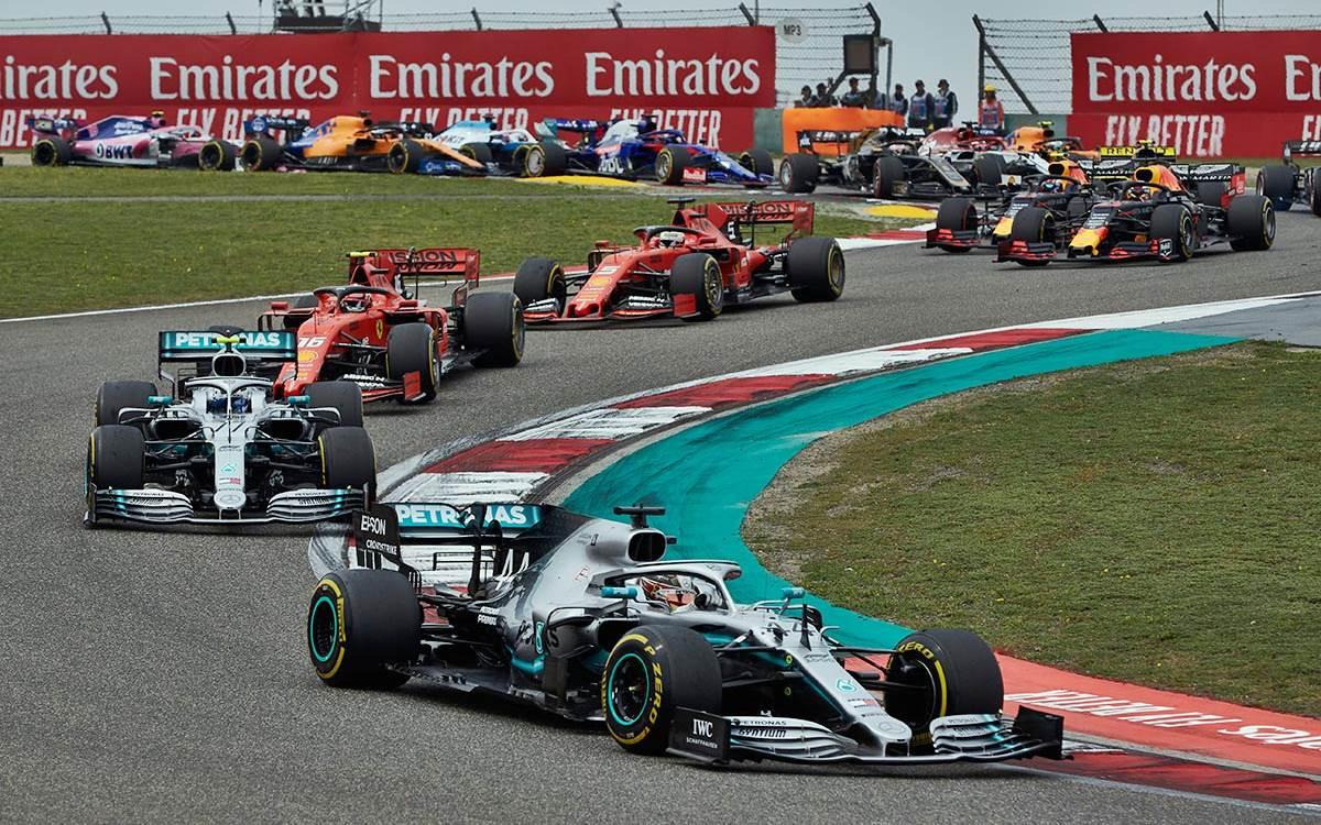 Coronavirus: La Fórmula 1 buscará reprogramar el Gran Premio de China