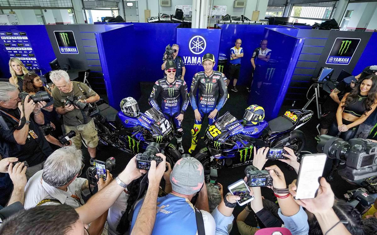 Yamaha quiere ser protagonista del MotoGP