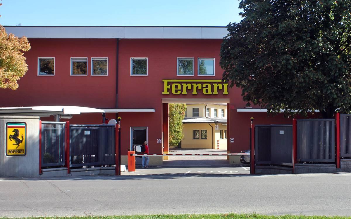 Ferrari fabrica