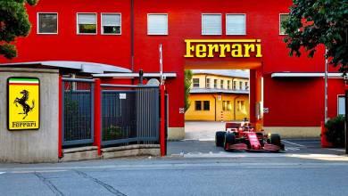 Photo of Charles Leclerc recorrió Maranello con la Ferrari SF1000