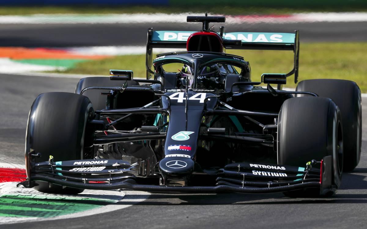 Lewis Hamilton Italia 2019