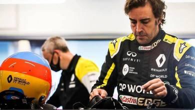 Photo of Fernando Alonso volvió a acelerar un Fórmula 1 después de dos años