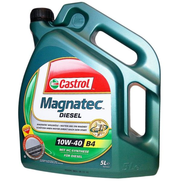 Ulei motor Castrol Magnatec Diesel B4, 10W40, 5L