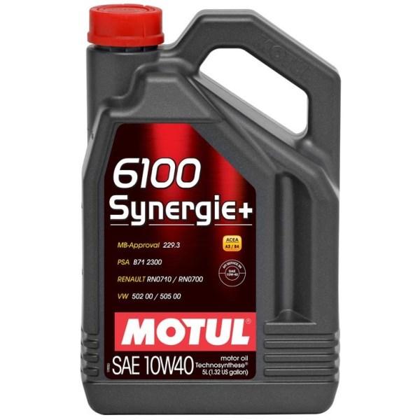 Ulei motor Motul 6100 Synergie+ 10W40, 5L