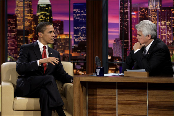 President Obama on the Tonight Show with Jay Leno