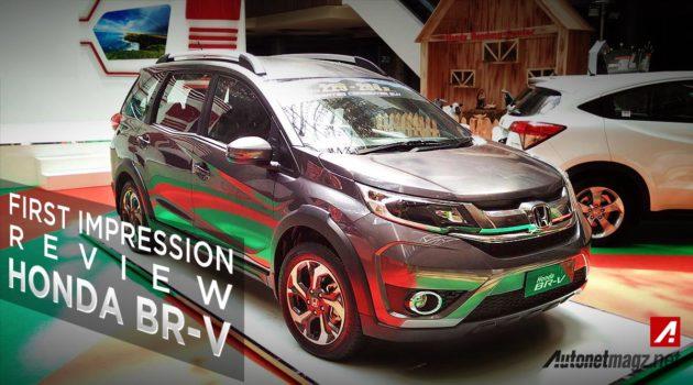 Review harga dan spek Honda BR-V Indonesia