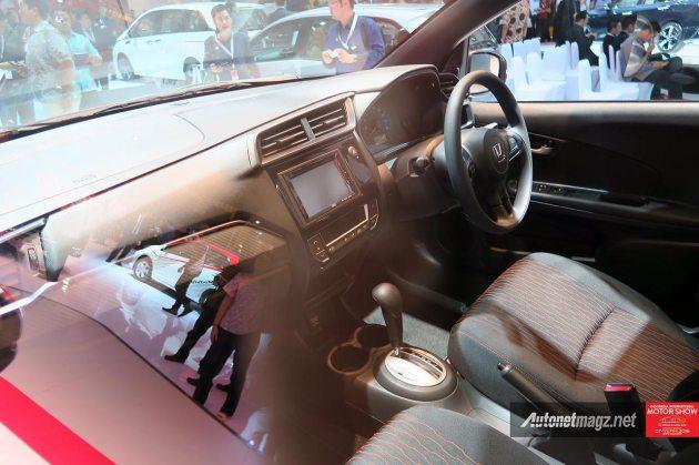 Interior dashboard New Honda Brio baru 2016