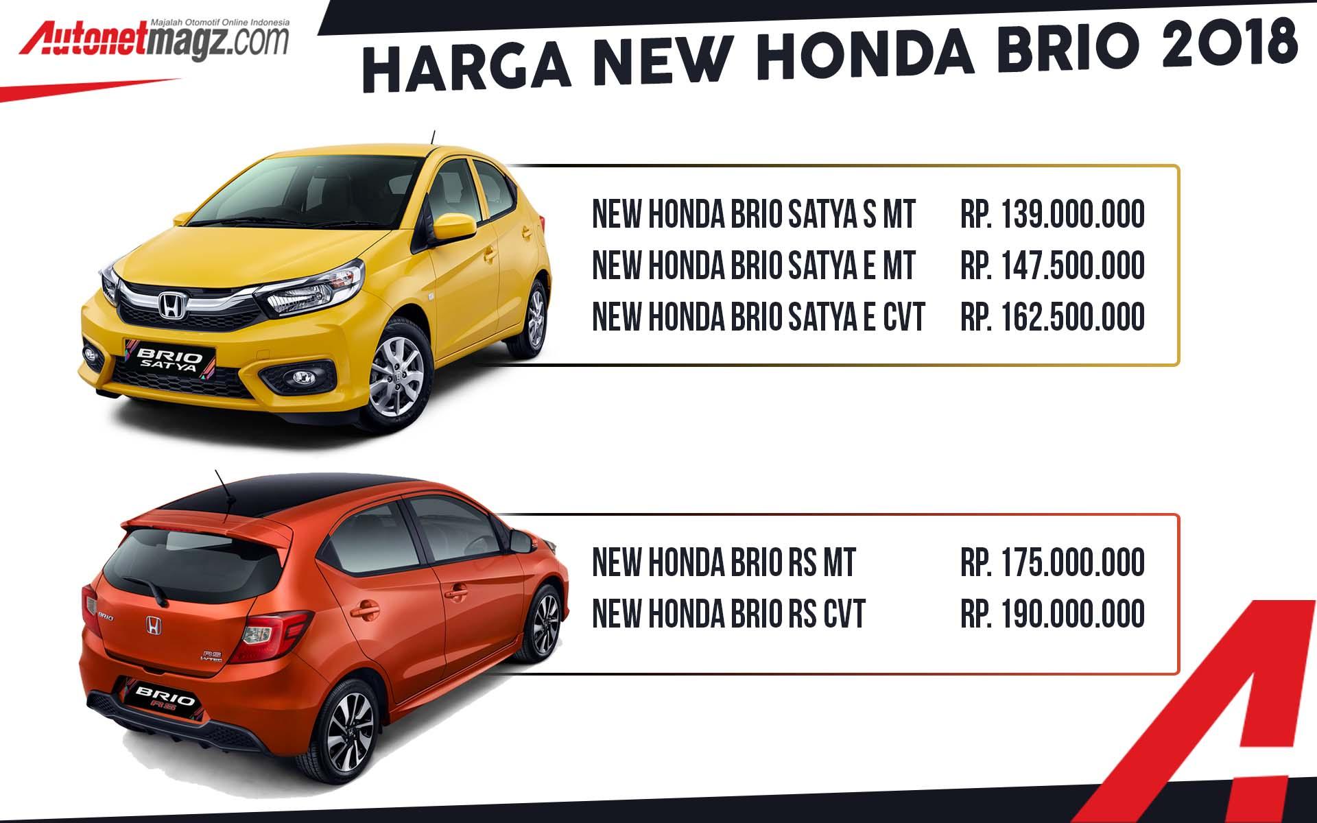 Harga honda brio terbaru september 2021 mulai dari rp 151.4 juta. harga brio   AutonetMagz :: Review Mobil dan Motor Baru Indonesia