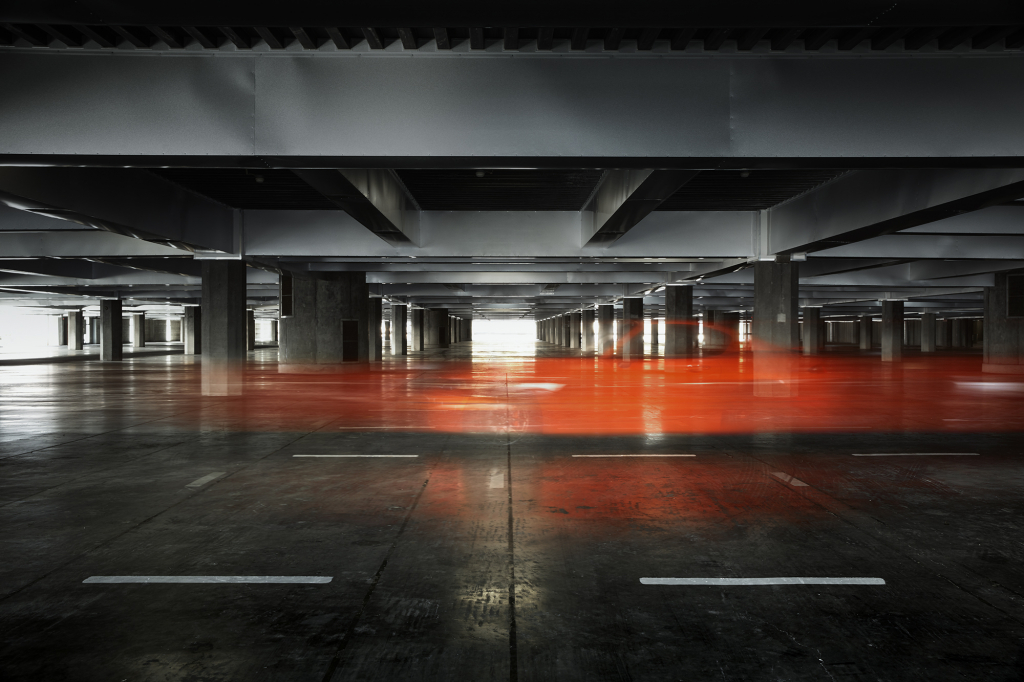 This is not an empty parking garage: Mazda teases upcoming