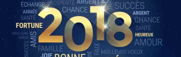 Bonne et merveilleuse année 2018 !!!