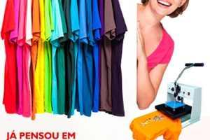 Maquina de estampar camisetas   Veja Preço e qual é o Melhor Equipamento