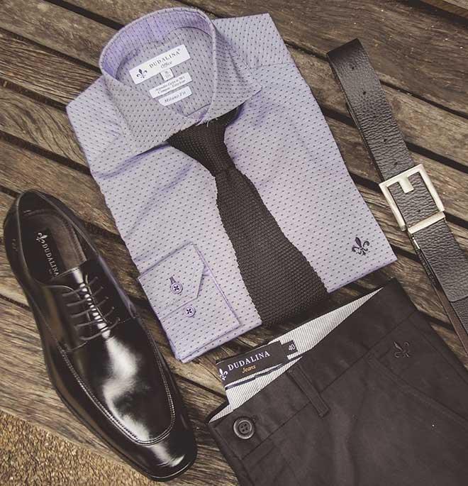 camisa social masculina dudalina