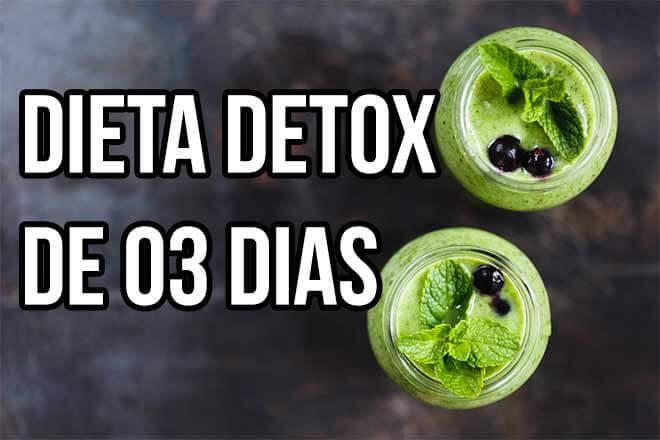 Receita do suco verde da dieta detox 3 dias