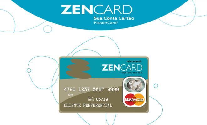 zencard sua conta cartão mastercard