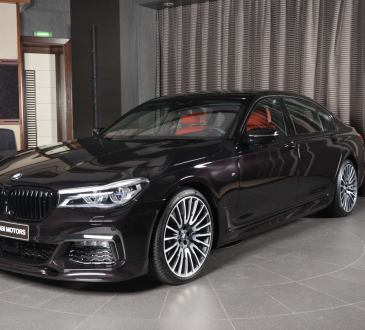 Ruby Black Metallic BMW 730Li