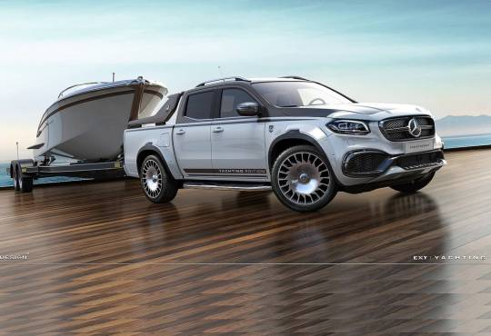 Carlex Design Mercedes X Class Yachting Edition