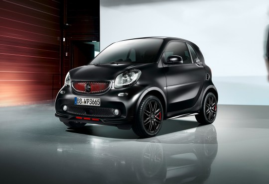 Smart ForTwo PureBlack Edition