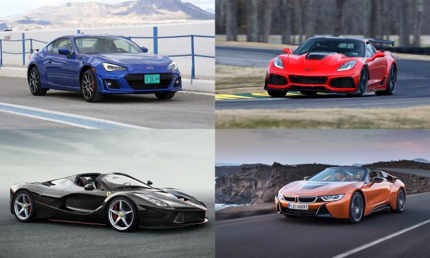 © Subaru of America; © Ferrari North America; © General Motors; © BMW North America