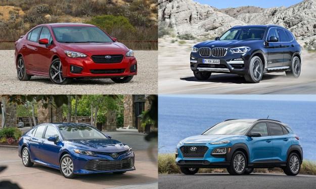 © Automotive Content Experience; © Toyota Motor Sales USA; © BMW North America; © Hyundai Motors America