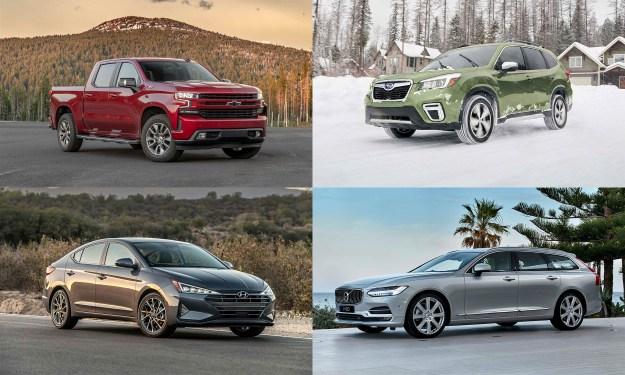 © General Motors; © Hyundai Motor America, © Subaru of America; © Volvo Cars North America