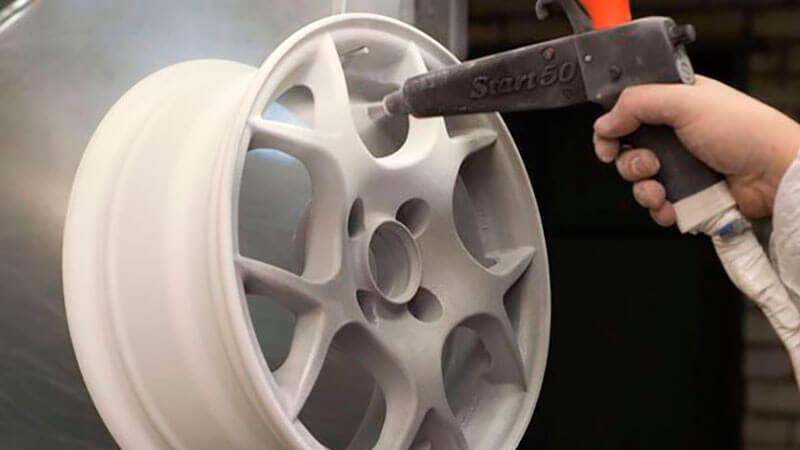 как покрасить диски на авто самому