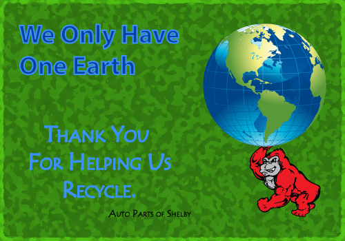 Thank You For Helping Us Recycle
