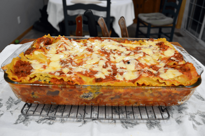 grannie geek, lasagna whole