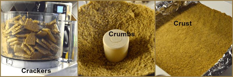 grannie geek, graham cracker crust collage2
