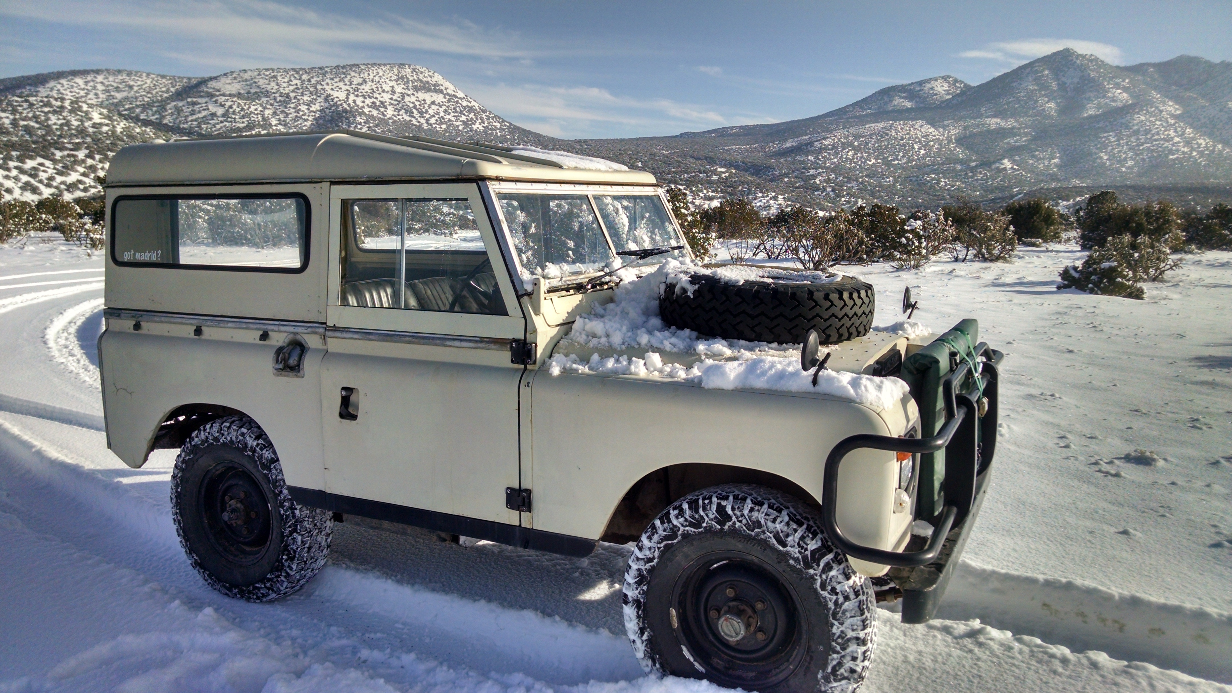 Autopilot Picture Cars for 1972 Land Rover Series 2 other