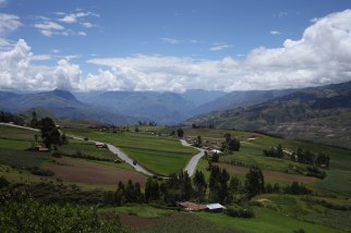 This should give you a pretty good idea of the 500 miles of scenery we had on our way to Cusco. Photo: Alex Washburn