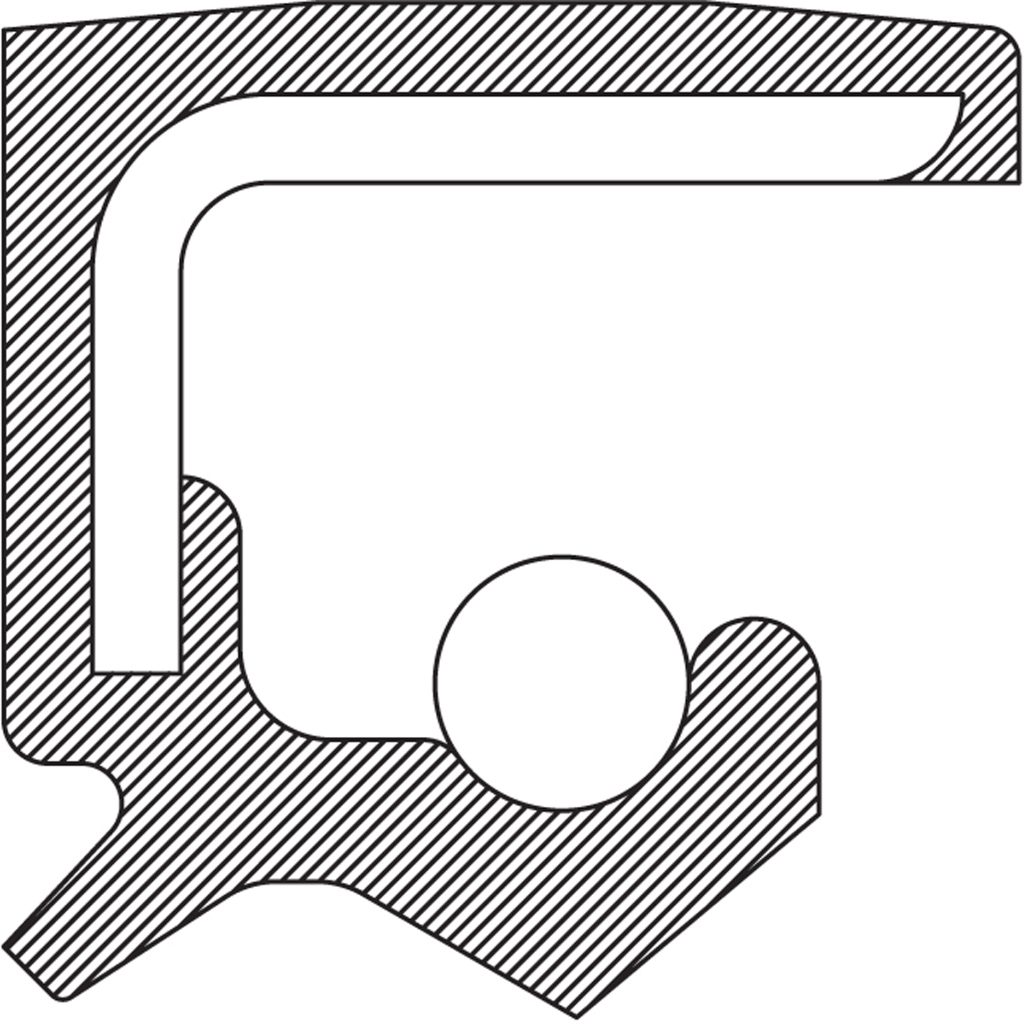 National Axle Shaft Seal