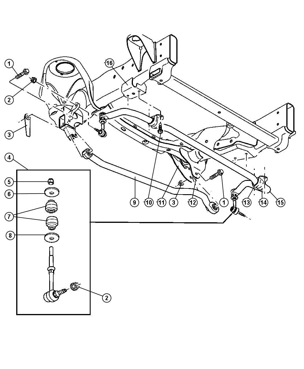 Mopar Performance Ab Mopar Link Kit Stabilize