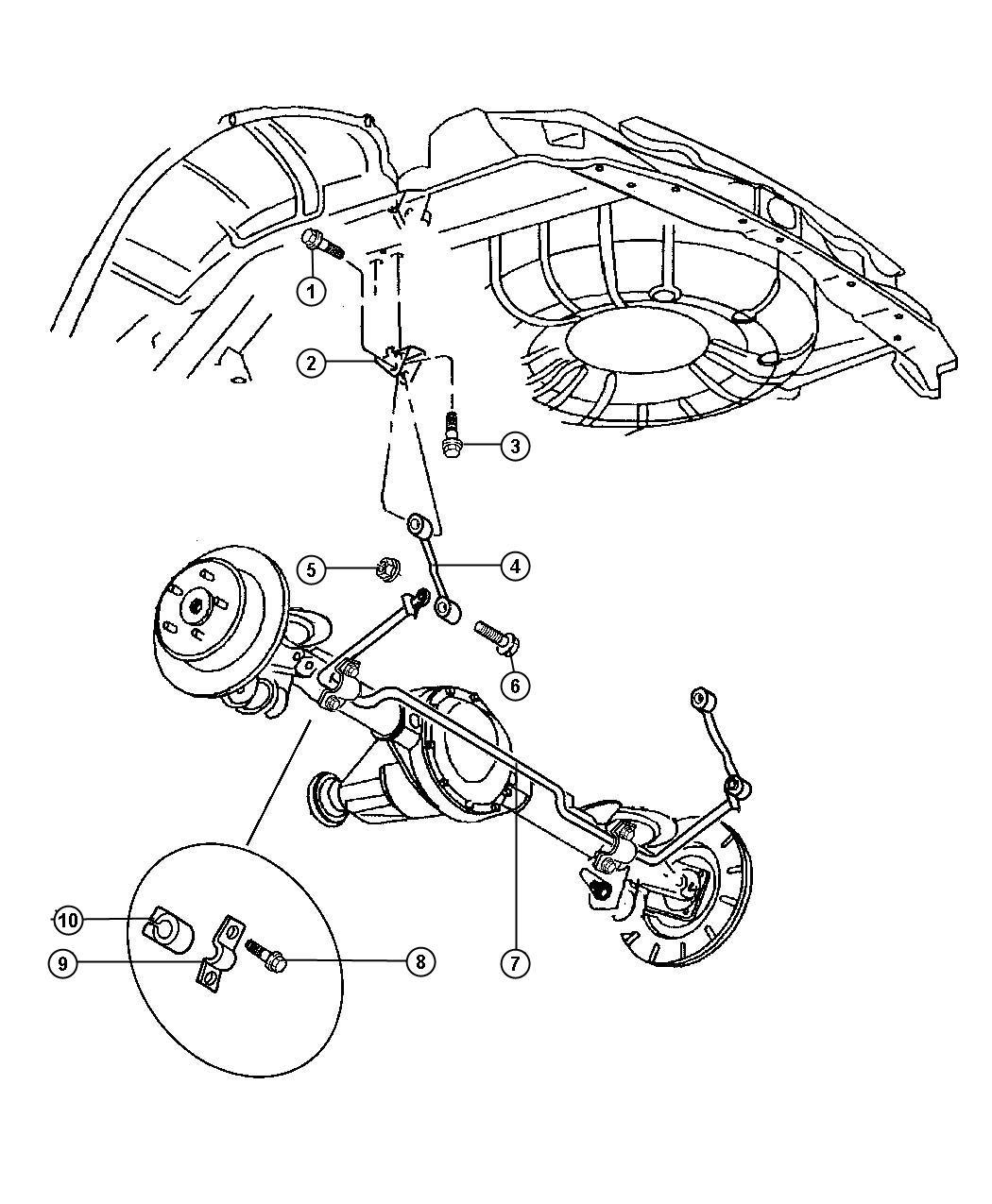 Chrysler Pacifica Front Suspension Diagram