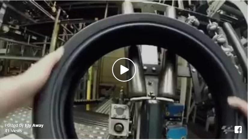 Como se faz um pneu MotoGP