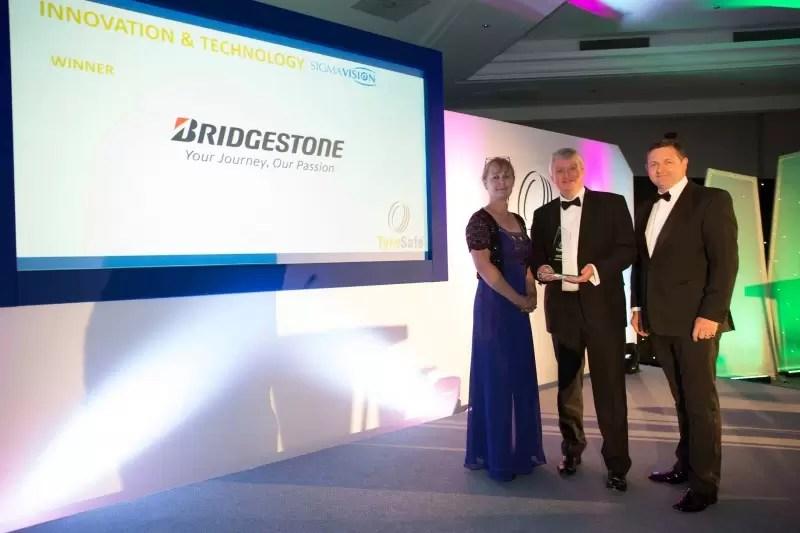 Bridgestone ganha dois prémios na Segurança de Pneus