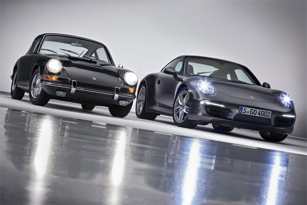 Porsche 911 Carrera 4S Coupe 2013 y el Porsche 911 2.0 Coupe original