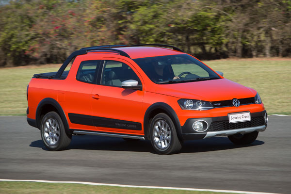 La pick up Volkswagen Saveiro Cross 2015 estará disponible a partir de