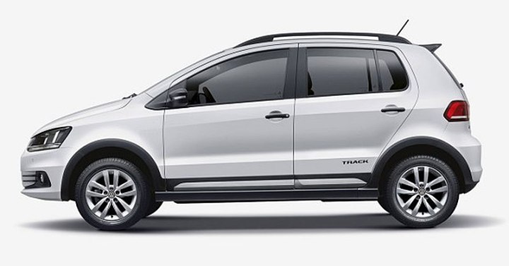 volkswagen fox track lateral