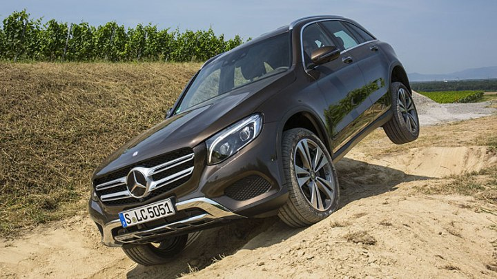 mercedes glc 300 4matic frente