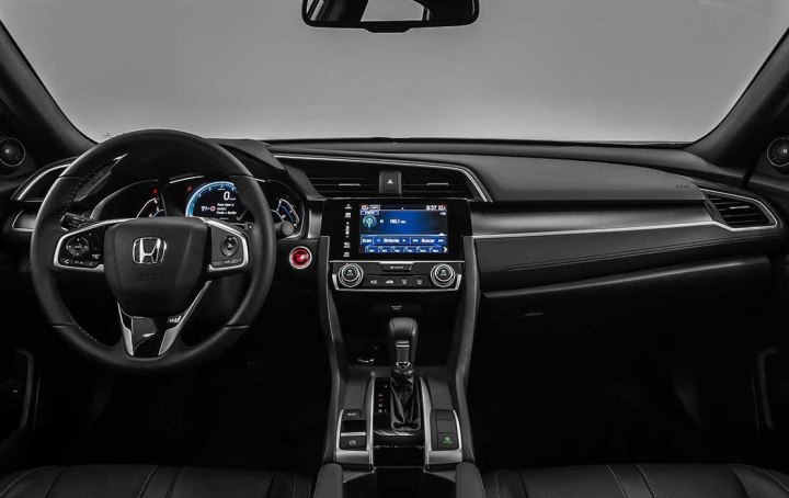 honda-civic-2017 interior