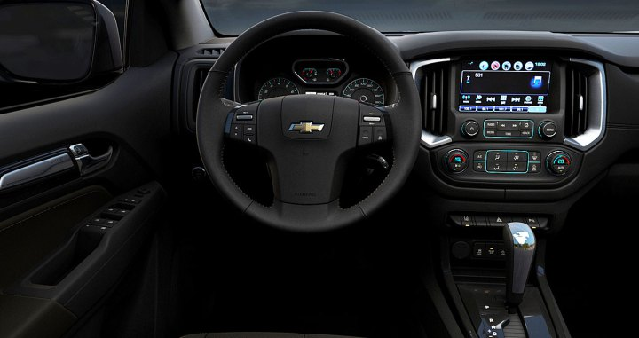interior nueva chevrolet trailblazer